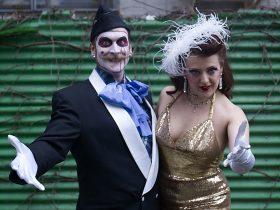Scary Ben and Darlinda Just Darlinda (Photo courtesy of Bushwick Burlesque)