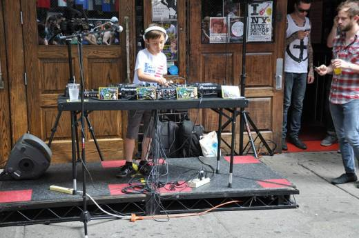 DJ Kai performing at this past June
