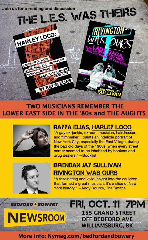 Friday at the Newsroom: Musicians Remember the LES in the '80s and