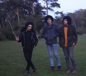 Left to right: Ali Eskandarian, Arash Farazmand and Soroush Farazmand (Photo Credit: Gabriela Fellet)