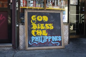 Outside of Jeepney. (Photo: Patrick Hogan)