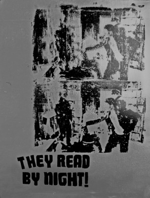 "Flyer for ""They Read By Night"" via Facebook"