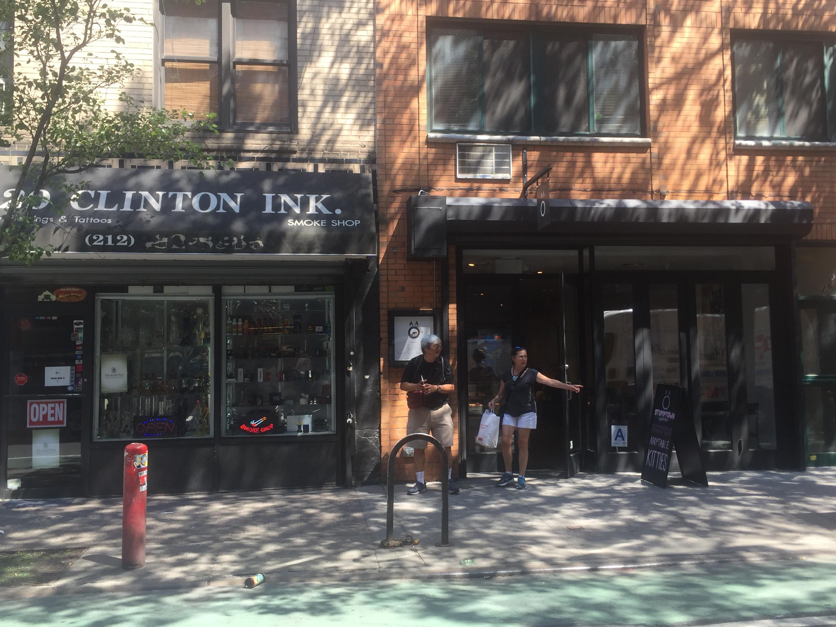 Clinton Ink next to Koneko Cat Cafe (Photo by Kavitha Surana)