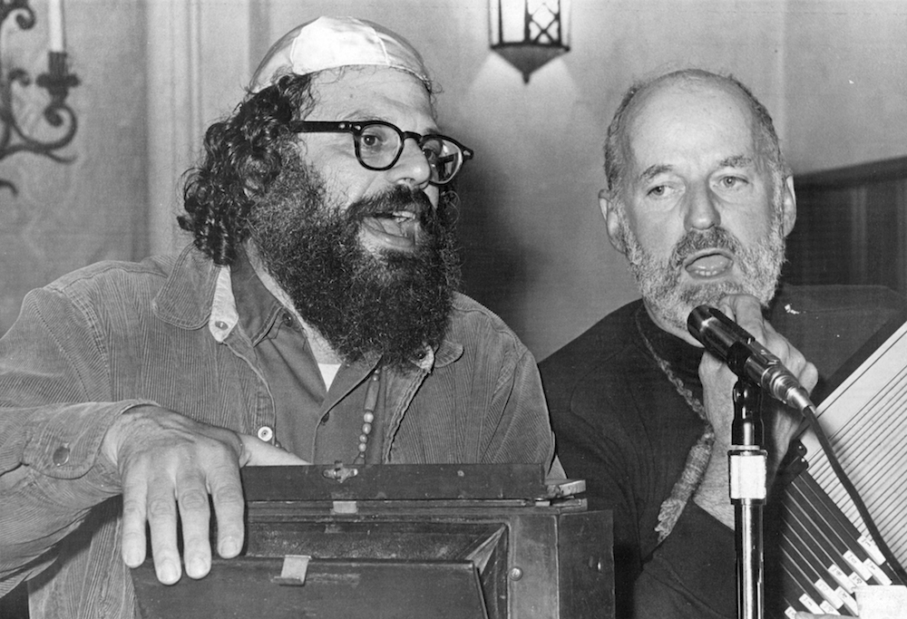 Ginsberg and Lawrence Ferlinghetti (Photo: Beth Bagley, courtesy of Howl!)