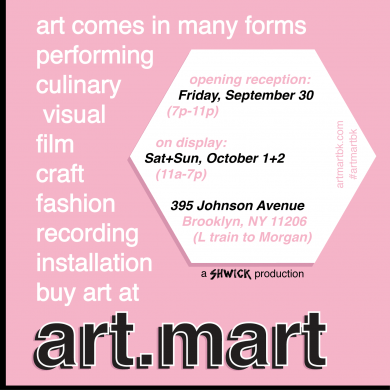 (flyer via Art Mart)