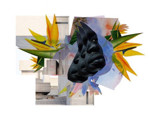 Nkiruka J. Oparah, study n° 080415, 2015, digital collage (image via BRIC)