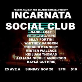 (flyer via Incarnata Social Club / Facebook)