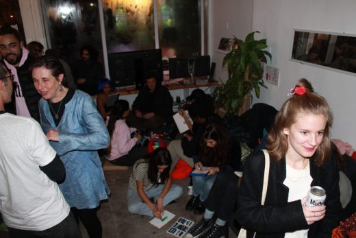 the Brujas Living Room Family Party (image courtesy of Recess)