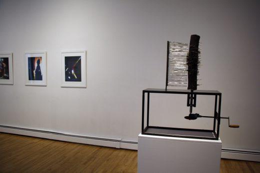 Installation view of William Eakin