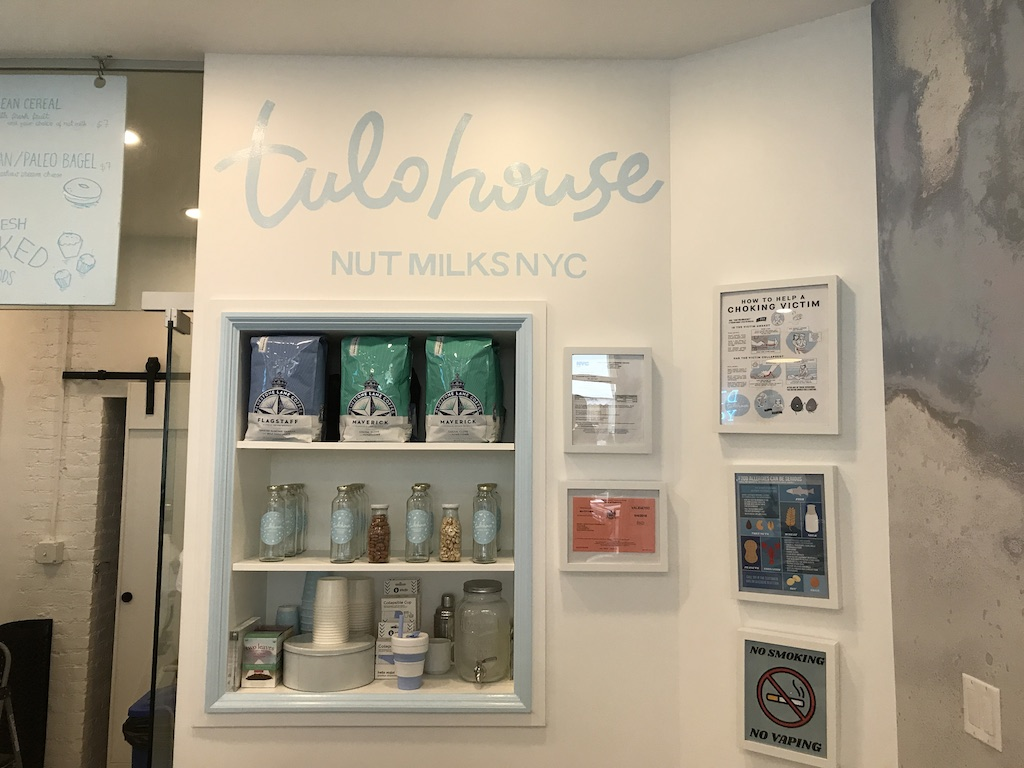 NYC'S First 'Nut-Milk Bar' Milks Nut Puns For All They're Worth - PUNCHLAND 3