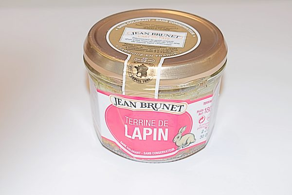 Terrine De Lapin (Rabbit) Pate 180g