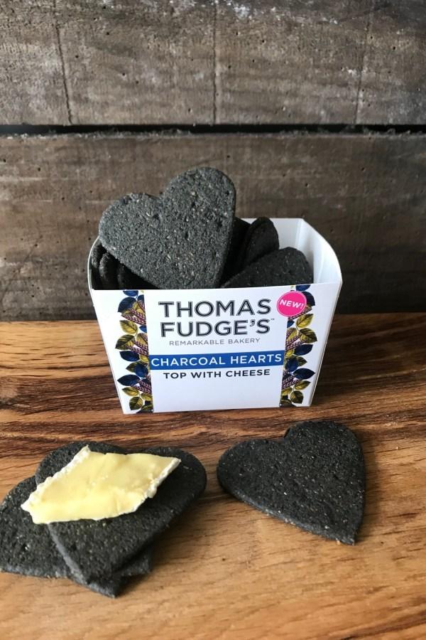 Thomas Fudges Charcoal Hearts 100g