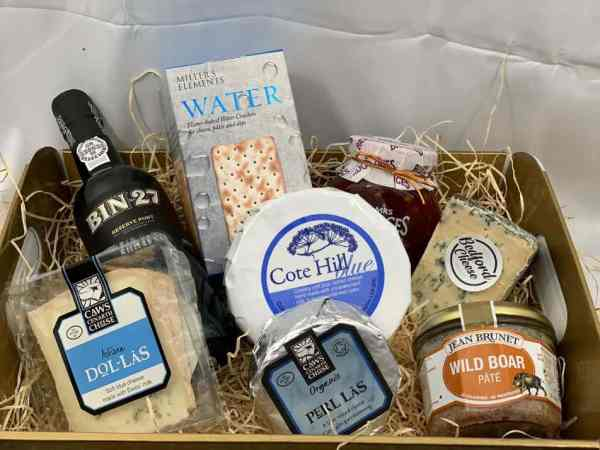 Blue Cheese & Port Hamper