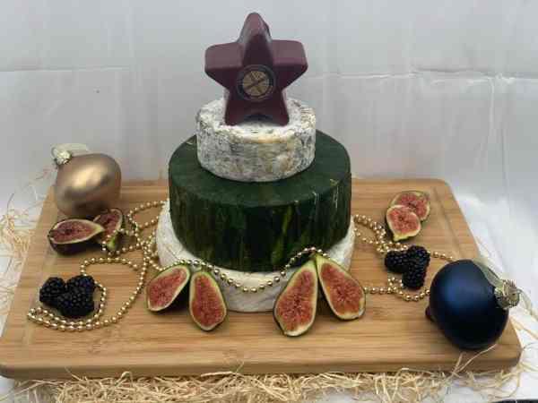 Christmas Cheese cake