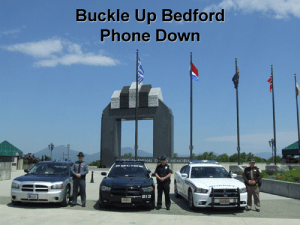 Buckle Up Bedford!