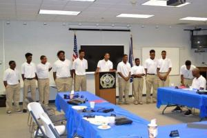 At BCSO Luncheon on Aug 16