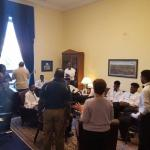 In Congressman Goodlatte's Office