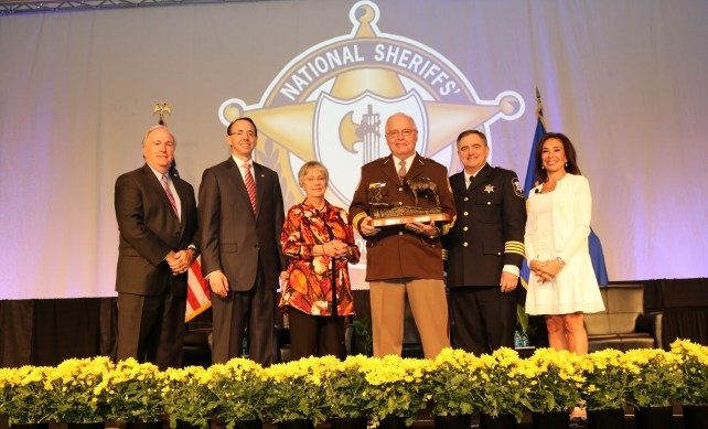 SHERIFF MIKE BROWN NATIONAL SHERIFF OF THE YEAR