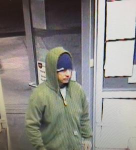 Photos: Bedford Police Seeking Heaven's Market Robbery Suspect