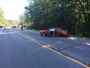 Bedford, N.H. Police Investigating 5-Vehicle Crash on Rt. 101