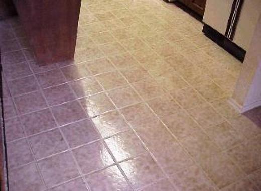 Ceramic Floor Tiles Luton Restaurant After