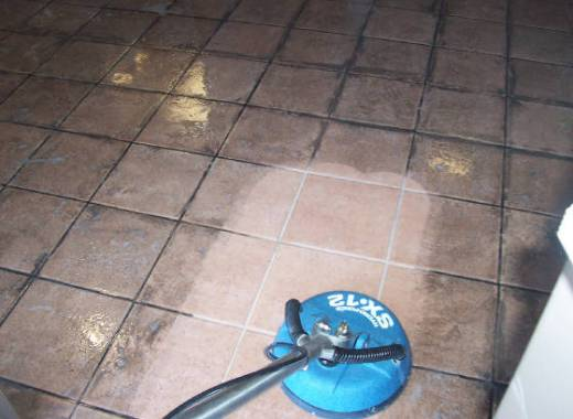 Ceramic Floor Tiles Luton Restaurant Before