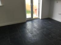 Dealing with Grout Haze on a New Black Limestone Floor in ...