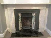Stained and Discoloured Marble Fireplace Rejuvenated in ...