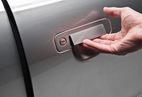 criminals open your car