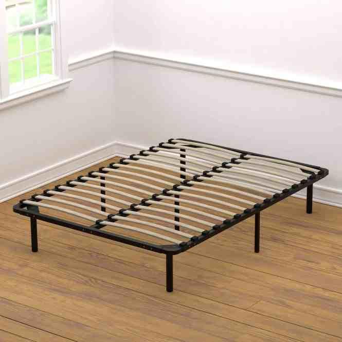 Handy Living Wood Slat Bed Frame Full