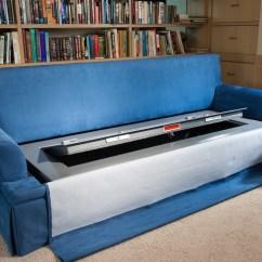 Sofa Gun Safe Antique Set Designs Couch Bunker And Hidden Furniture Bedbunker Safes 2626 Partially Open