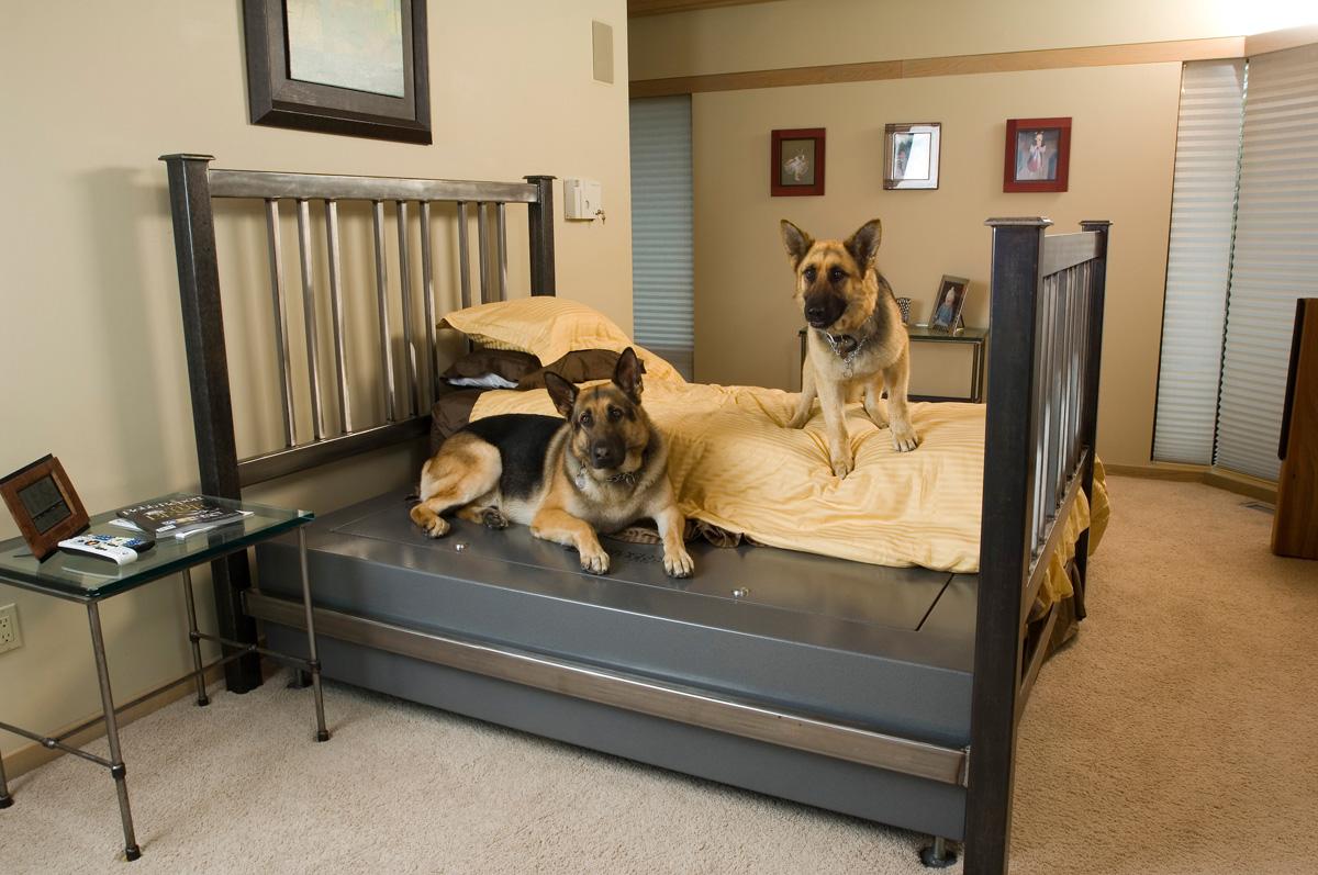 Queen BedBunker Security Safe