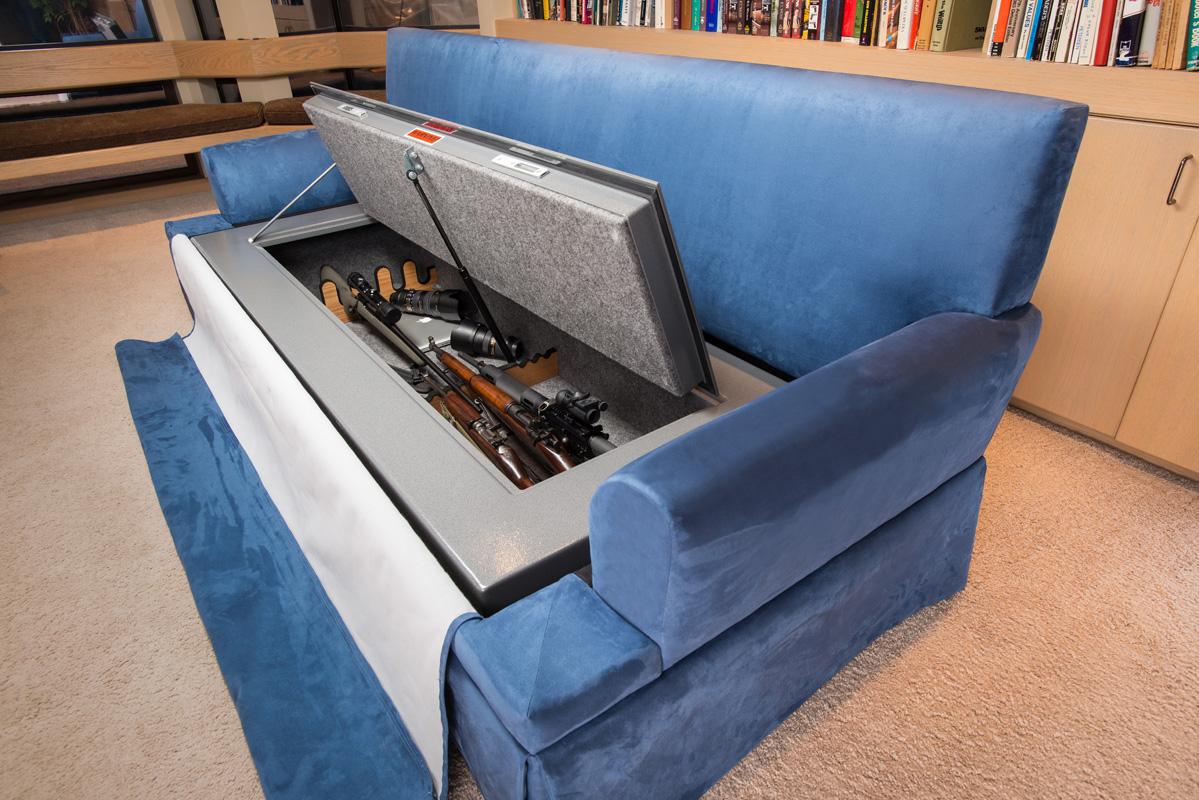 sofa gun safe lane ethan sleeper couch bunker and hidden furniture bedbunker safes bdc 2685 edit