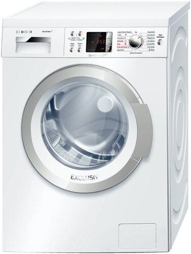 Bosch Waschmaschine Wasserhahn Symbol Blinkt : bosch, waschmaschine, wasserhahn, symbol, blinkt, Bedienungsanleitung, Bosch, WAQ2849S, Seiten)