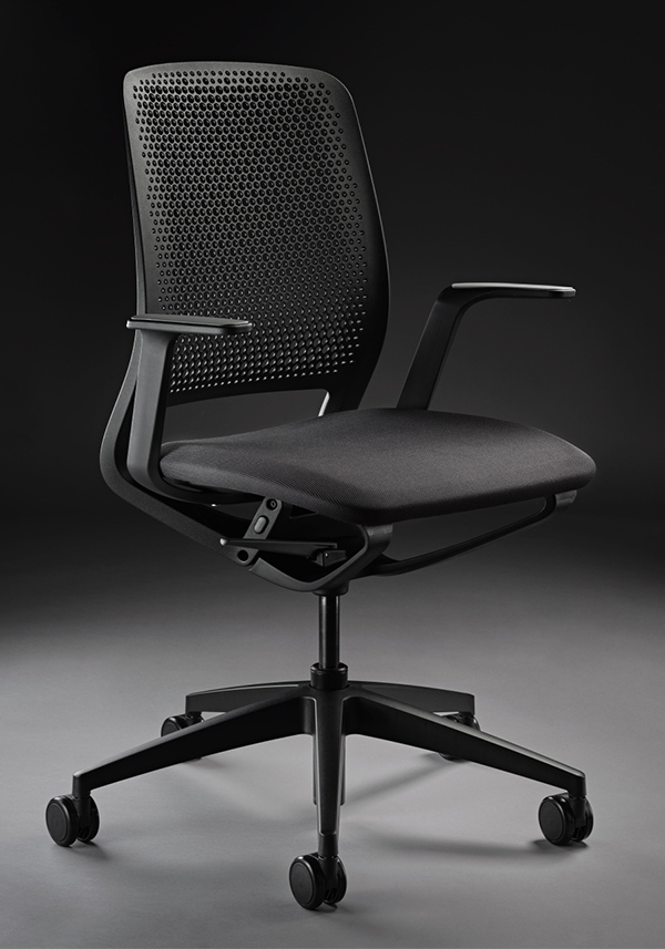 mobilier de bureau qui représente un siège qui convient parfaitement au télétravail