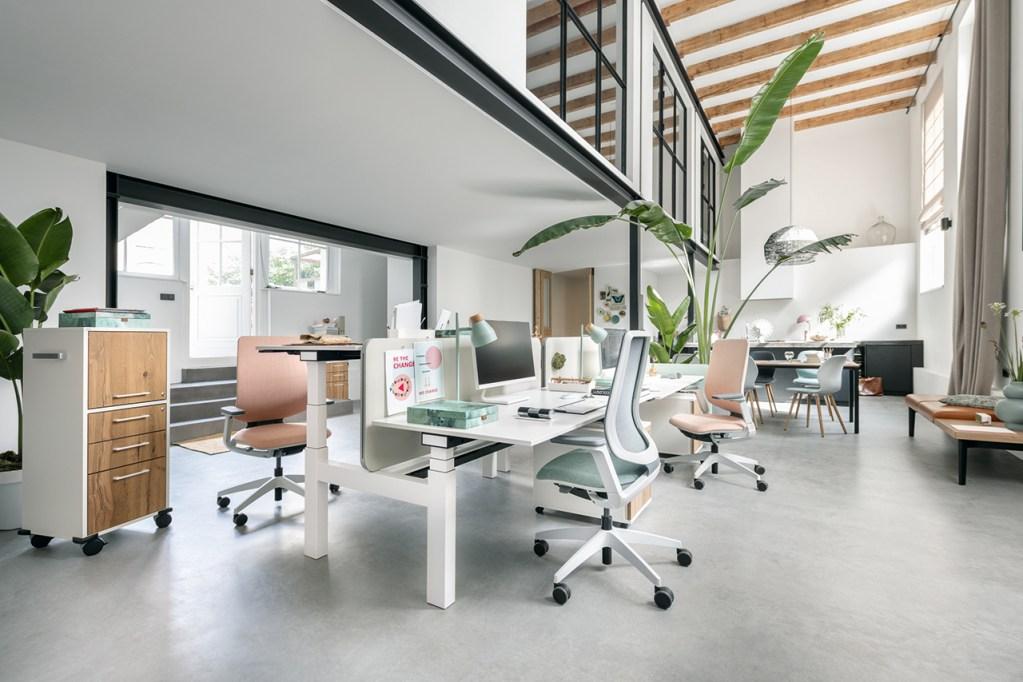mobilier de bureau pour des open space et des bureaux ouverts