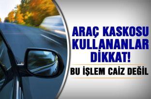 Araba kaskosu kullanmak caiz midir? Ahmet Karataş cevapladı..