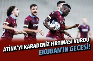 AEK Trabzonspor UEFA Avrupa Ligi maçı golleri ve geniş özeti