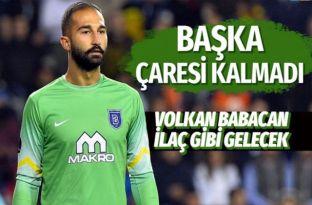 Beşiktaş yönetimi Başakşehir'in kalecisi Volkan Babacan'ı