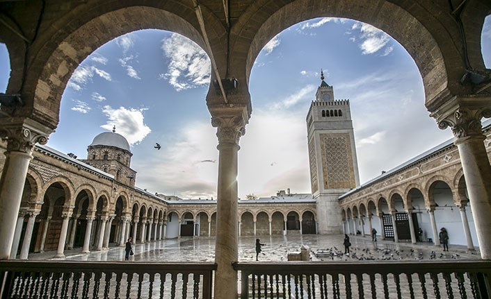 Emevi Devleti döneminde üniversite kabul edilen cami