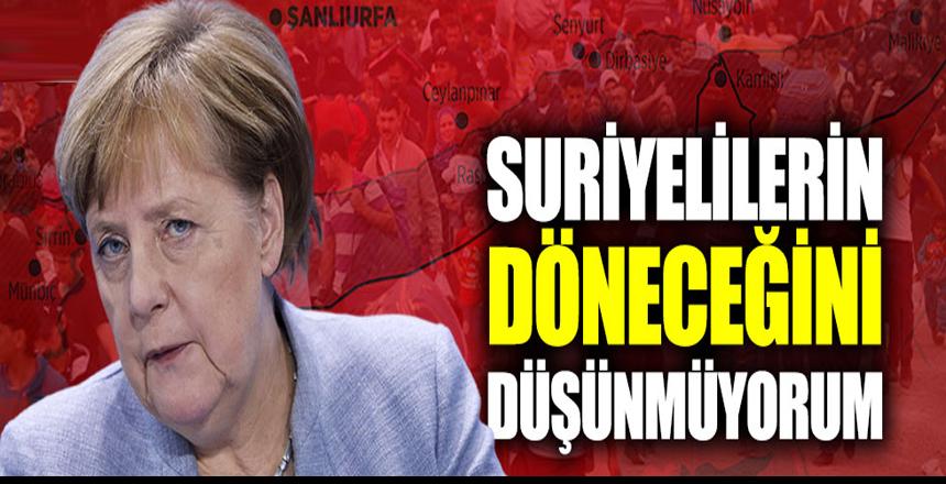Angela Merkel'den Suriyeli sığınmacılara ilişkin açıklama