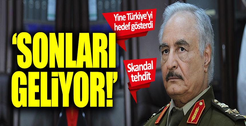 Halife Hafter'in sözcüsü Türkiye'yi tehdit etti