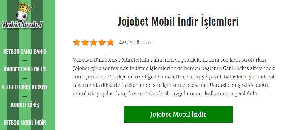 Jojobet ve Betboo'da Mobil Canlı Spor Bahisleri-Genel Bakış Türkiye'de