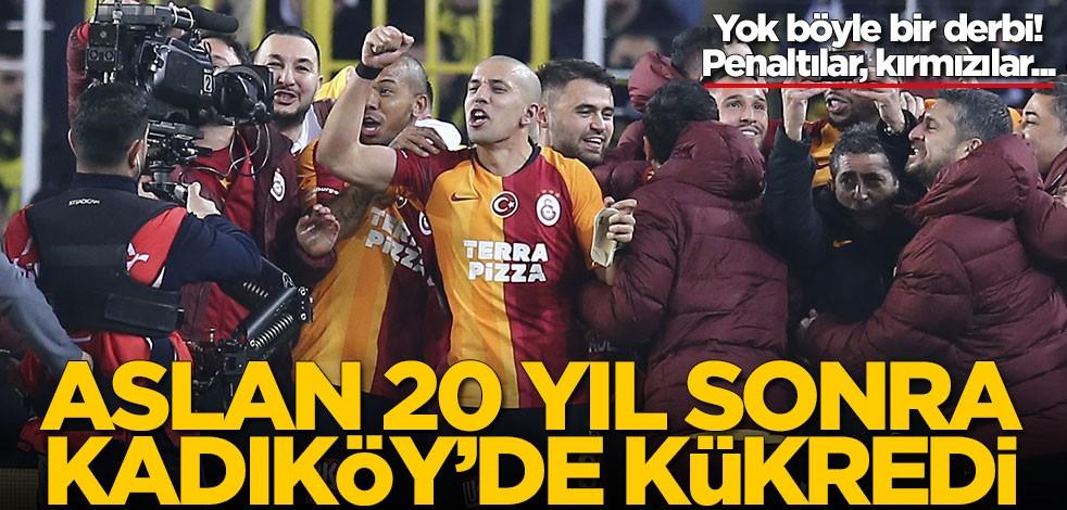 Galatasaray, Fenerbahçe'yi Kadköy'de 20 yıl sonra yendi