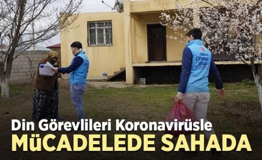 Koronavirüsle mücadelede din görevlileri sahada