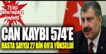 Fahrettin Koca açıkladı: Korona virüsten can kaybı 574 oldu