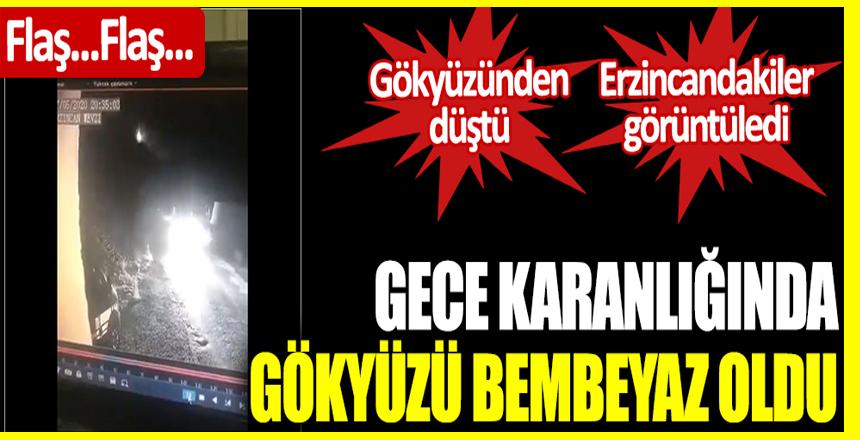 Türkiye'de birçok ilde büyük parlama meydana geldi