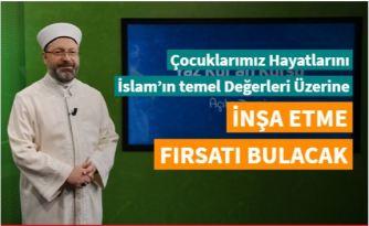 Erbaş: Yaz Kur'an kursları, çocuklarımızı Kur'an'la tanıştırma adına önemli bir fırsattır