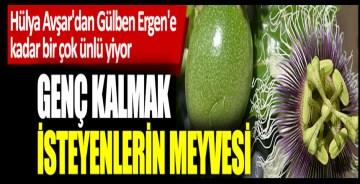 Hülya Avşar'dan Gülben Ergen'e kadar bir çok ünlü yiyor! Genç kalmak isteyenlerin meyvesi