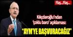 Kılıçdaroğlu'ndan 'çoklu baro' açıklaması!